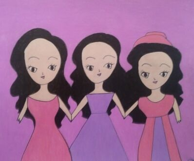 Jenny Chan, 'Three Ladies', 2020