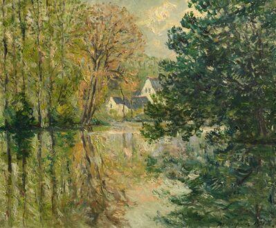 Maxime Maufra, 'The Loir at Poncé, Sarthe', 1918