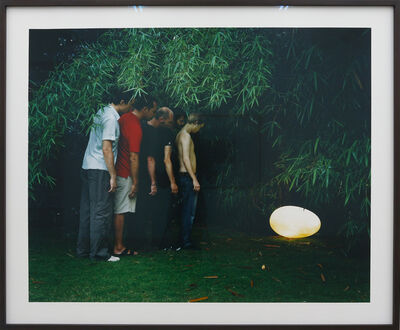 Sigurdur Gudmundsson, 'Five Males and an Egg, 2/3', 2007