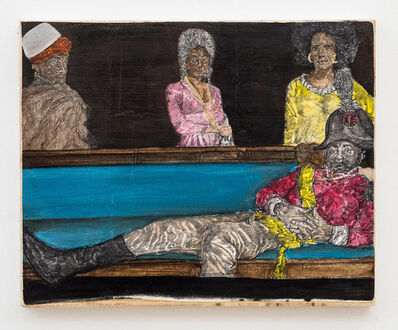 Umar Rashid (Frohawk Two Feathers), 'Odalisque Disco. Stretch out and enjoy the time before you stretch out permanently.', 2016