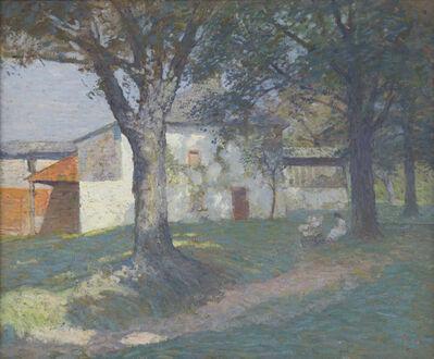 N.C. Wyeth, 'The Artist's Studio', c. 1908-1910