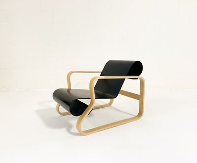 "Alvar Aalto, 'Armchair 41 ""Paimio"" Lounge Chair', Late 20th Century"