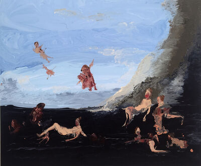 Genieve Figgis, 'Birth of Venus after Boucher', 2016