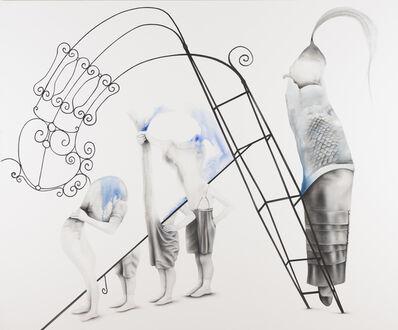 Aras Seddigh, 'Cracked Fountain', 2015
