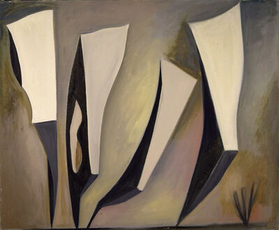 Lorser Feitelson, 'Untitled, Magical Forms', 1947