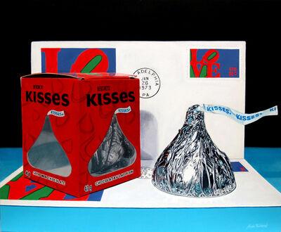 Alvin Richard, 'LOVE Letters and KISSES', 2021