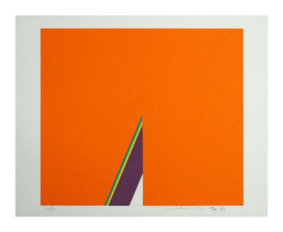 Hsiao Chin 蕭勤, 'Farbkomposition orange', 1973