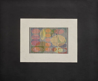 Yaacov Agam, 'First 4 days of creation', 1961