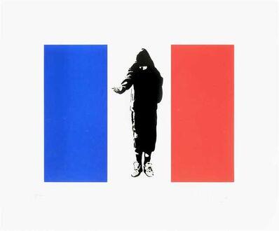 Blek le Rat, 'Homeless In Paris', 2007