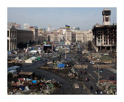 Davide Monteleone, 'Untitled #021, Maidan series', 2014