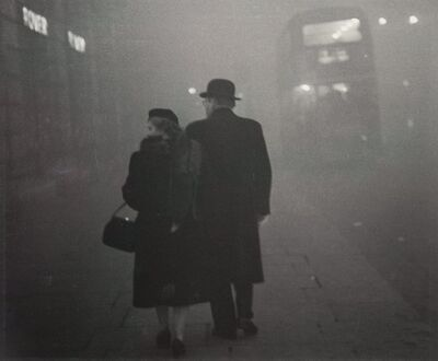 Grace Robertson, 'London Fog', 1949