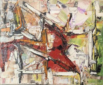 Jean-Paul Riopelle, 'A la croisée', 1957