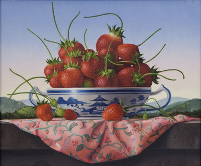 James Aponovich, 'Strawberries in a Canton Bowl', 2015