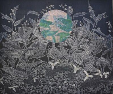 Julia Lucey, 'Redwood Sorrel, Trillium and Starry False Solomon's Seal', 2017