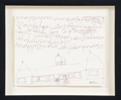 Dwight Mackintosh, 'Untitled (Building with Sky Writing)'