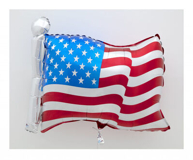 Jeff Koons, 'Flag', 2020