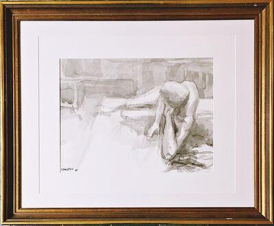 Philip Pearlstein, 'Untitled nude', 1964