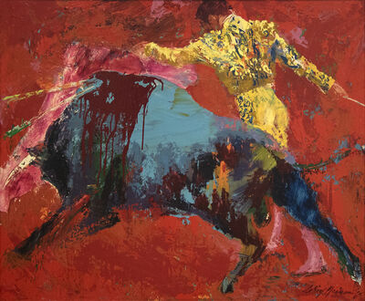 LeRoy Neiman, 'The Bull Fighter', 1965