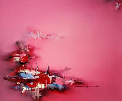 Gao Xiao Yun 高小云, 'The Lantern Night 风消焰蜡 ', 2016