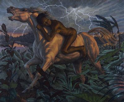 F. Scott Hess, 'Pale Horse', 2011