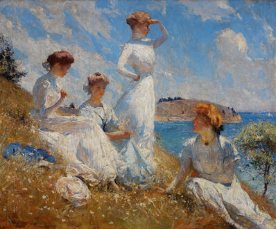 Frank Weston Benson, 'Summer', 1909