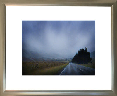 Robyn Hills, 'Road to Arthur's Pass in Rain', 2011