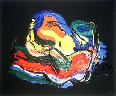 Karel Appel, 'L'homme dans l'espace', 1990