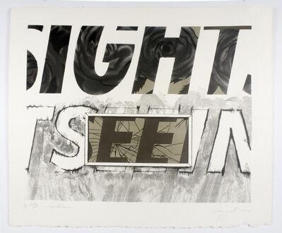 James Rosenquist, 'Sightseeing (black pull)', 1972