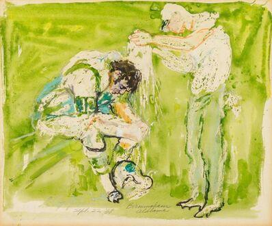 LeRoy Neiman, 'Joe Namath', 1968