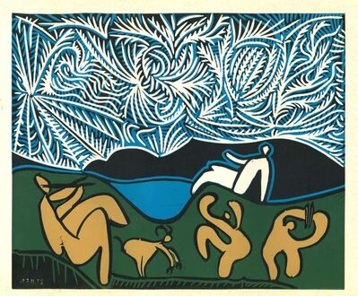 Pablo Picasso, 'Bacchanale avec Spectateur', 1962