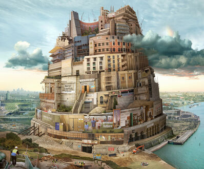 Emily Allchurch, 'London Babel (after Breugel)', 2015