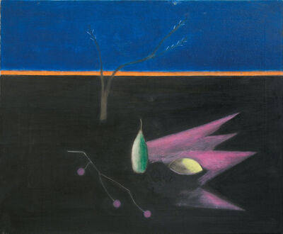 Craigie Aitchison CBE RSA RA, 'Pear Still Life', 1971
