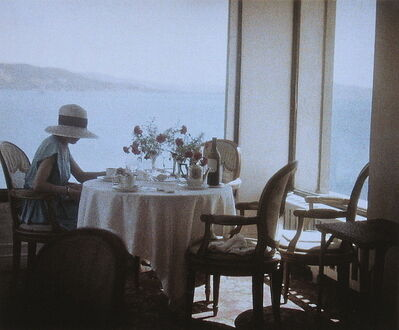 Jacques Henri Lartigue, 'Bibi at Eden Roc, Cap d'Antibes', 1920