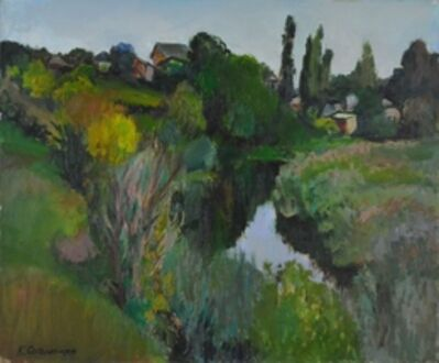 Kerop Dzarukovich Sogomonyan, 'Landscape, at sunset', 2002