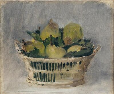 Édouard Manet, 'Basket of Pears', 1882