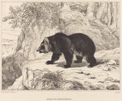Antoine-Louis Barye, 'Mississippi Bear', 1836
