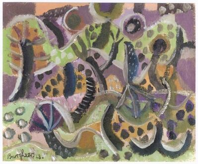 Eduard Bargheer, 'Afrikanische Vegetation (African Vegetation)', 1968