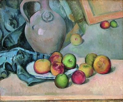 Paul Cézanne, 'Pichet de grès (Stoneware Pitcher)', 1893/94