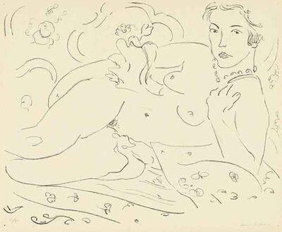 Henri Matisse, 'Nu, Main Gauche près de l'Épaule', 1926