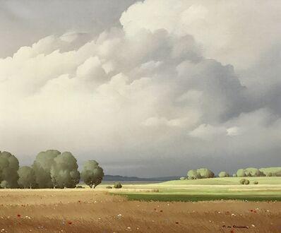 Pierre de Clausade, 'Ciel de France Cloudscape, French Landscape', 1959
