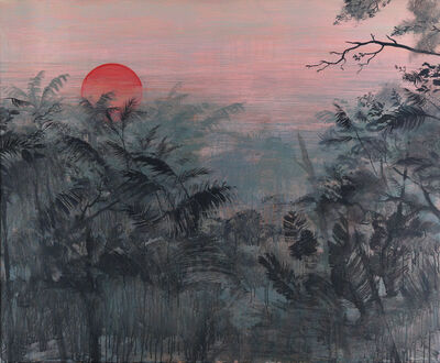 Wim Legrand, 'Red moon ', 2019