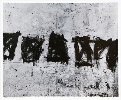 Aaron Siskind, 'Jalapa 10 (Homage to Franz Kline)', 1973