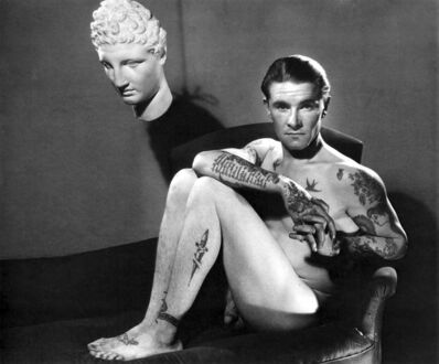 George Platt Lynes, 'Tattooed Man', 1934