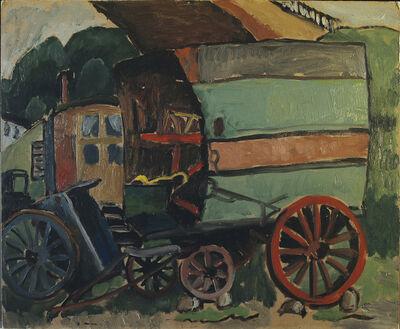 Gabriele Münter, 'Zigeunerwagen I', 1930