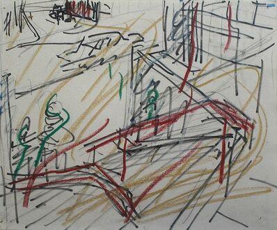 Frank Auerbach, 'Euston Steps', 1981
