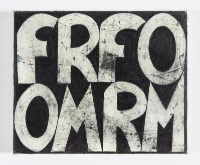 Allan Graham, 'FROM FORM', 2011