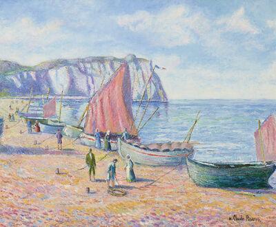 Hugues Claude Pissarro, 'Barques de Pêcheurs à Étretat', 2019