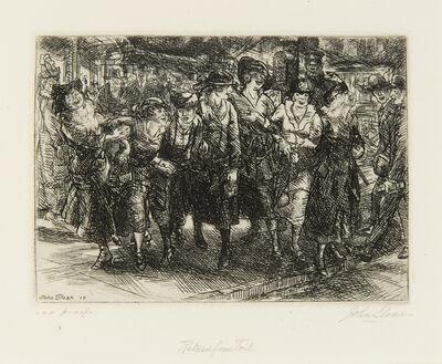 John Sloan, 'Return from Toil', 1915
