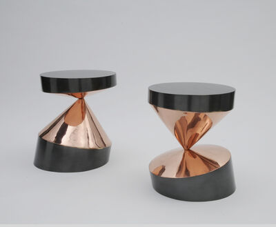 """Paolo Giordano, 'Side tables """"Whirling twins""""', 2016"""