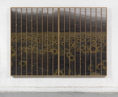 Gregor Hildebrandt, 'Das Sonnenblumenfeld (Ein weitere Grund ein Ohr abzuschneiden (E.N.)', 2017